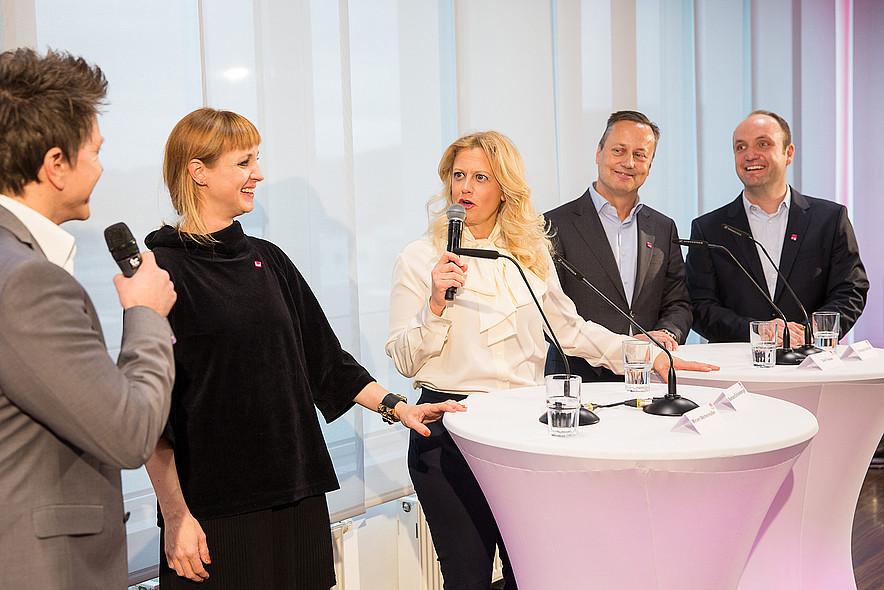 medi Bayreuth Barbara Schöneberger Pressekonferenz