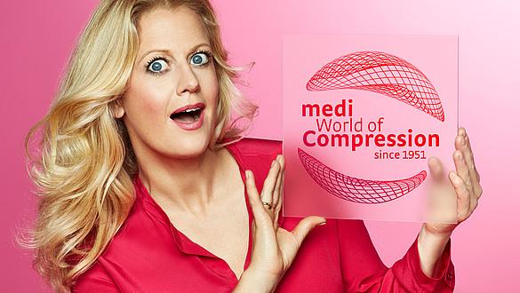 medi und Barbara Schöneberger World of Compression