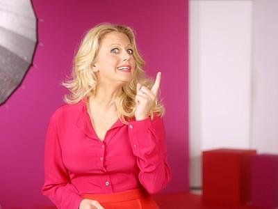 Barbara Schöneberger Video medizinische Kompression