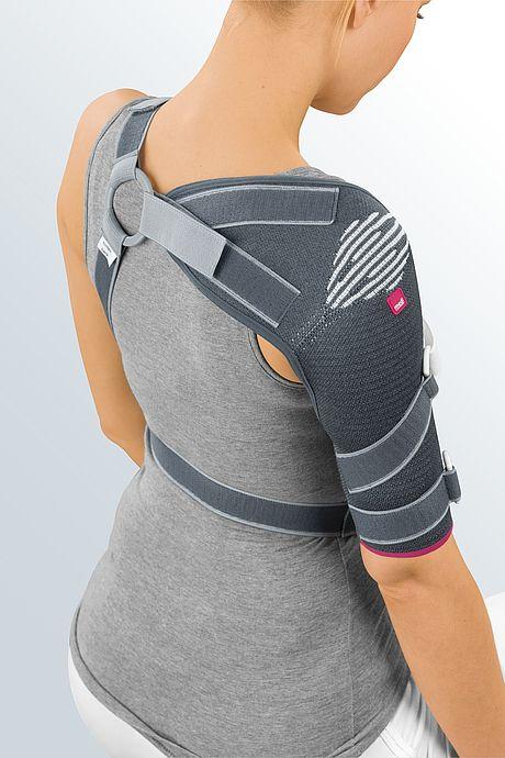Omomed Schulterbandage Detailansicht von hinten