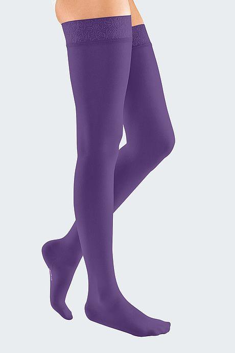 mediven elegance Kompressionsstrümpfe Venentherapie violett