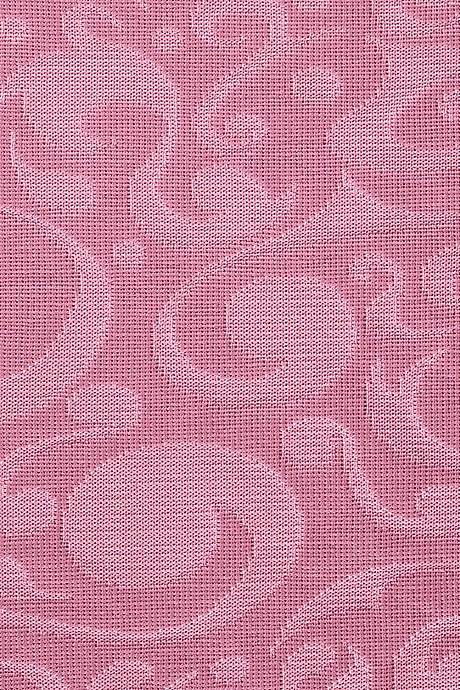 mediven 550 flachgestrickte Kompressionsstrümpfe in rosa mit Ornaments