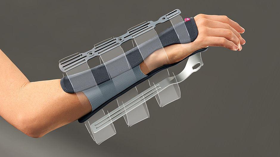 Manumed RFX Handgelenk- und Unterarmorthese schwarz