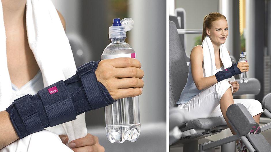 Handgelenkorthesen medi Manumed Wellness