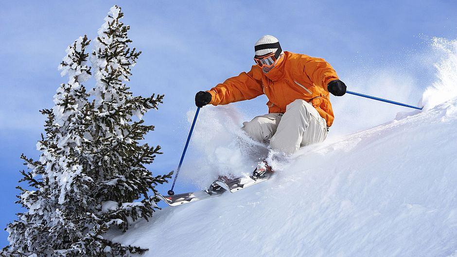 Skifahren Wintersport Freizeit