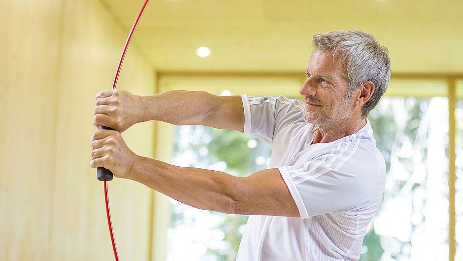Schulterorthesen medi Bogenschießen