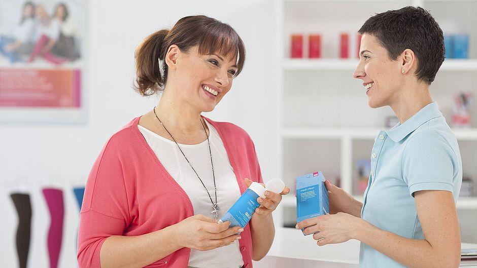 Medi clean: Waschmittel für Kompressionsstrümpfe