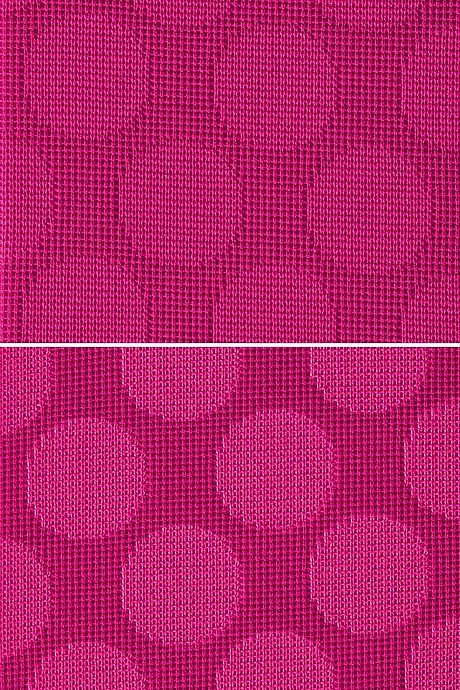 Fashion element Dots auf magenta